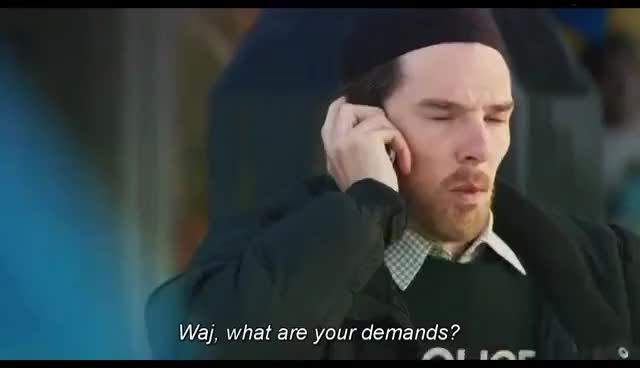 "Watch and share Benedict Cumberbatch's Scene In Four Lions - ""You're An Arse Man"" GIFs on Gfycat"