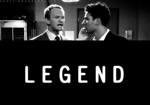 himym, how i met your mother, legendary, neil patrick harris, Dary! Legendary! GIFs