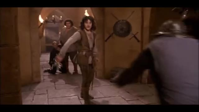Watch Inigo Montoya vs Count Rugen (The Princess Bride) GIF on Gfycat. Discover more related GIFs on Gfycat