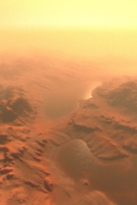 mars, unity3d, water, Water on Mars - Unity3d Ceto GIFs