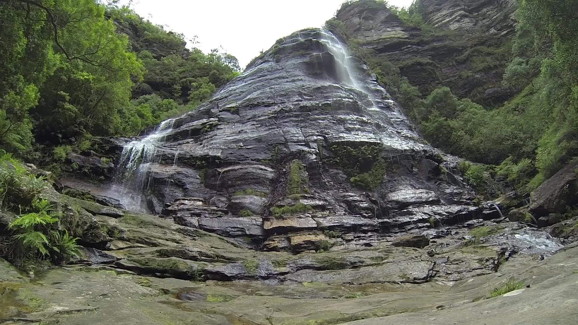 earthgifs, naturegifs, waterfall, Leura Cascades, Blue Mountains GIFs