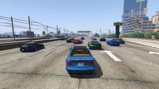 Watch and share GTA V Racing Brake Check From Hell GIFs on Gfycat