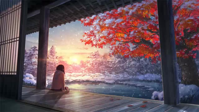 Watch and share Scenery GIFs and Anime GIFs by ganik12345 on Gfycat