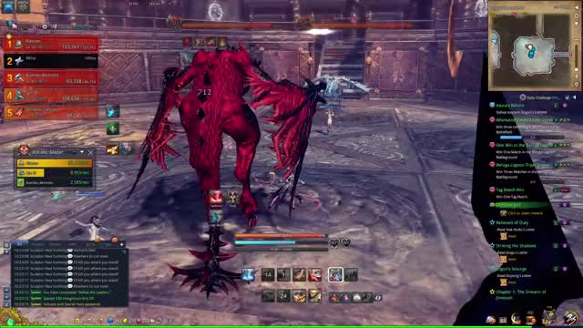 Watch and share Blade And Soul GIFs by legolazer on Gfycat