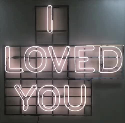Watch this i love you GIF by GIF Queen (@ioanna) on Gfycat. Discover more break, breakup, broken, couple, disappointed, heart, heartbroken, in, love, loved, neon, pink, romantic, sad, sign, together, up, you GIFs on Gfycat
