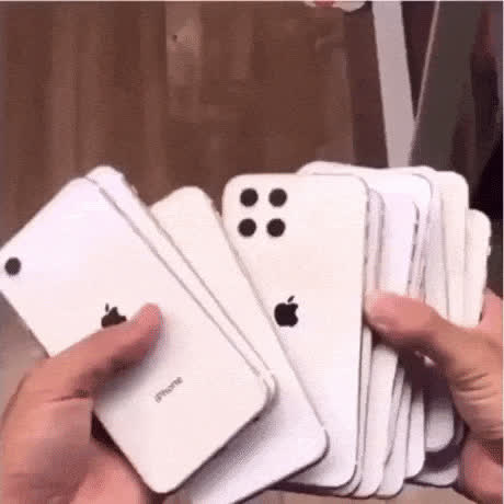 Here is some next generation iPhones - gif