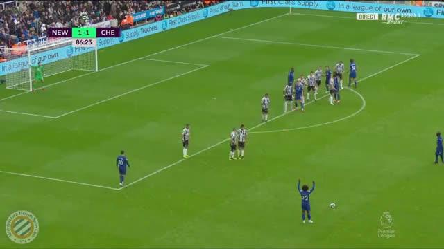 Watch Match 03 (Chel) - Alonso-YedlinOG 82' GIF by @ninjake on Gfycat. Discover more Newcastle United, soccer GIFs on Gfycat