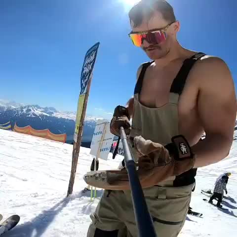 Watch and share Skiing GIFs and Drink GIFs by hjalmar111 on Gfycat