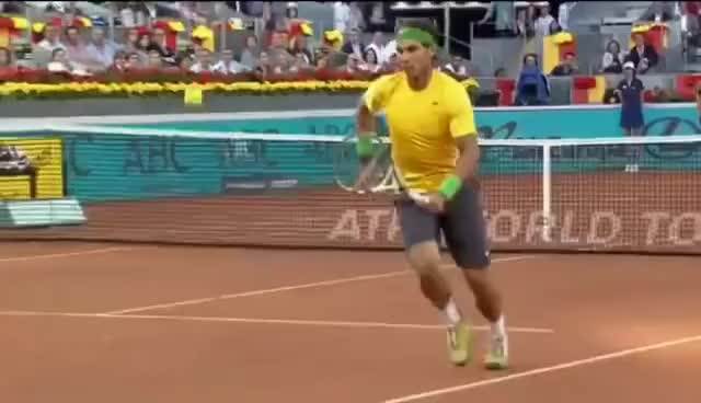 Watch and share Rafael Nadal GIFs and Tennis GIFs on Gfycat