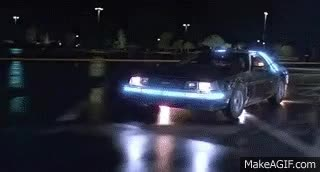 Watch Back To The Future - 1985 - Delorean Time Machine 88 MPH [HD] GIF on Gfycat. Discover more related GIFs on Gfycat