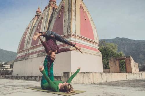 Watch Acroyoga fun in RIshikesh with Jo and Ola Visual Artist Yogi GIF on Gfycat. Discover more acro yoga, acroyoga, adventure, asana, balance, double, gif, grunge, hippy, india, namaste, partner yoga, punk, rishikesh, spiritual, the art of yoga, theartofyoga, travel, yoga, yoga everywhere, yoga photographer, yoga photos, yoga portrait, yogi casino, yogicasino GIFs on Gfycat