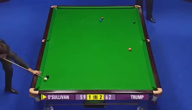 Ronnie O'Sullivan Impossible 5 Cushion Snooker Escape GIFs