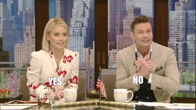 Watch this kelly ripa GIF by Reactions (@leahstark) on Gfycat. Discover more GIF Brewery, YES, gif brewery, kelly ripa, ryan-seacrest-is-kelly-ripa-s-new-co-host, yes GIFs on Gfycat
