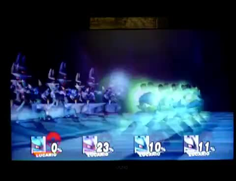 Watch SSBB Lucario final smash GIF on Gfycat. Discover more super smash bros GIFs on Gfycat