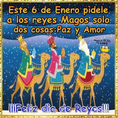 Watch and share Este 6 De Enero Pídele A Los Reyes Magos Solo Dos Cosas: GIFs on Gfycat