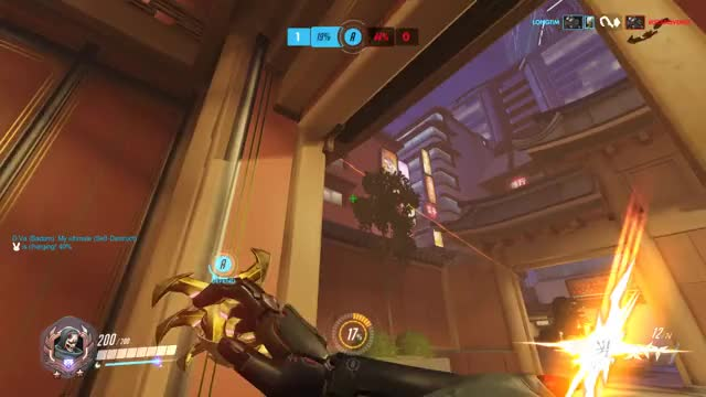 Watch and share Dragonblade GIFs and Overwatch GIFs by dammitspersecond on Gfycat