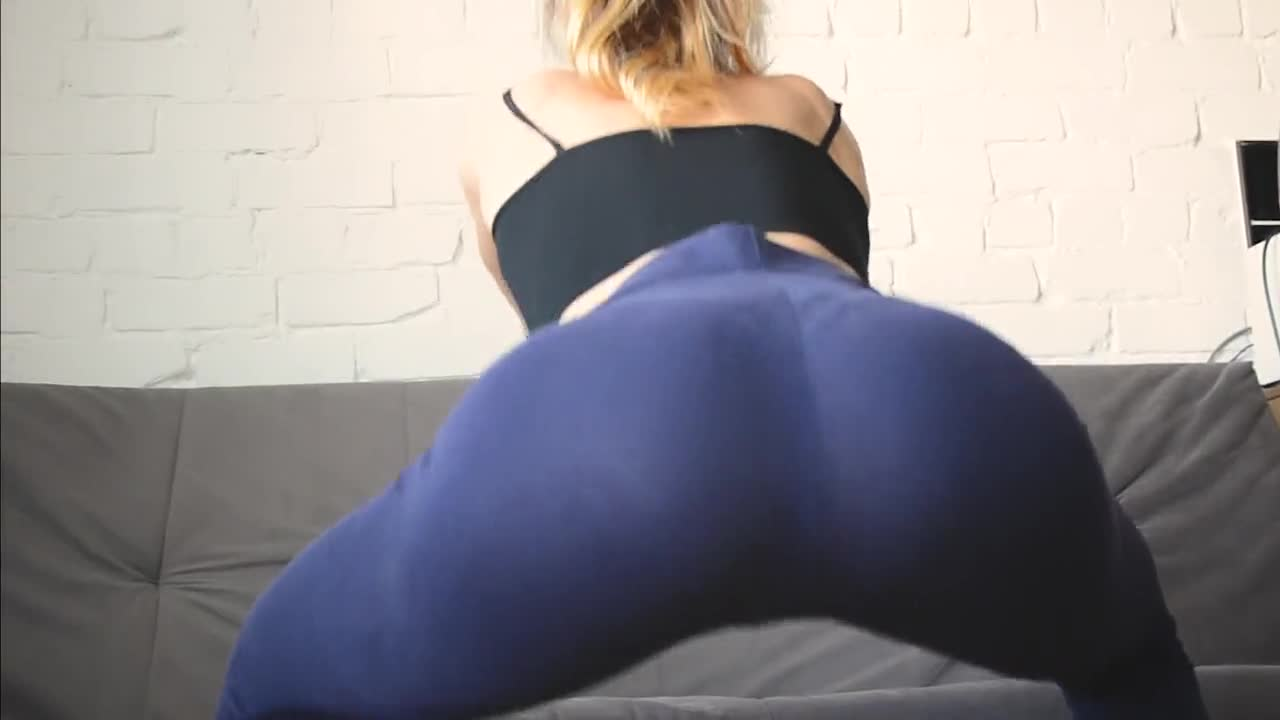 Fitness Girl in Yoga Pants