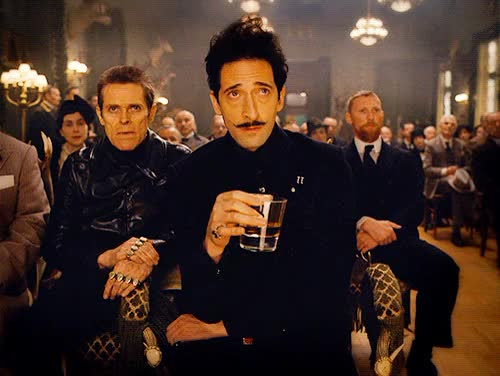 Watch and share Adrien Brody GIFs and Willem Dafoe GIFs on Gfycat