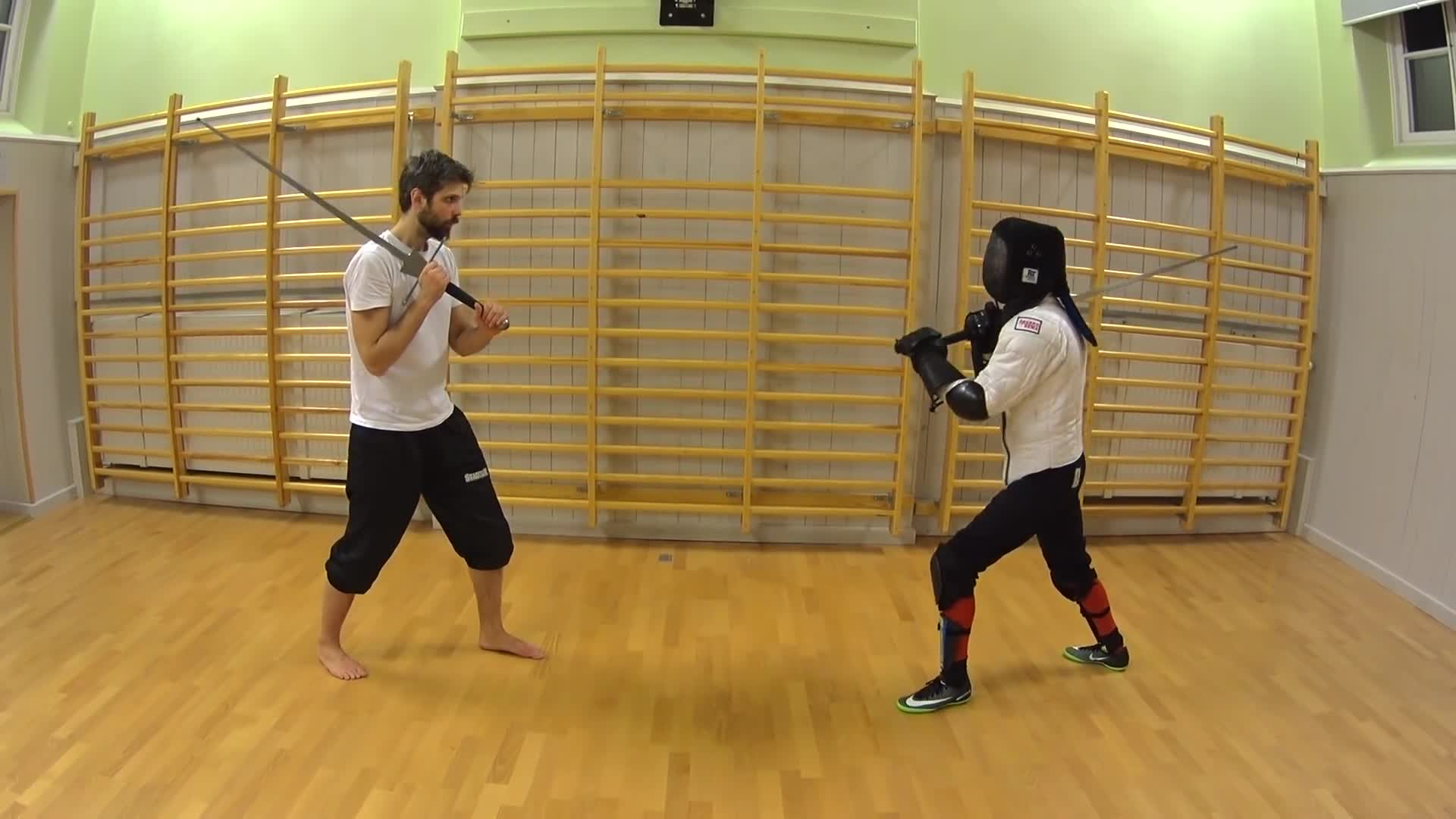 Carl Ryrberg, Gaming, HEMA, Historical European Martial Arts, Longsword, Tomten's History & Simulation, WMA, Western Martial Arts, Örebro HEMA, Carl Ryrberg basic parry GIFs