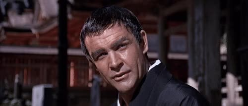 Watch and share Sean Connery As James Bond In You Only Live Twice (1967) GIFs on Gfycat