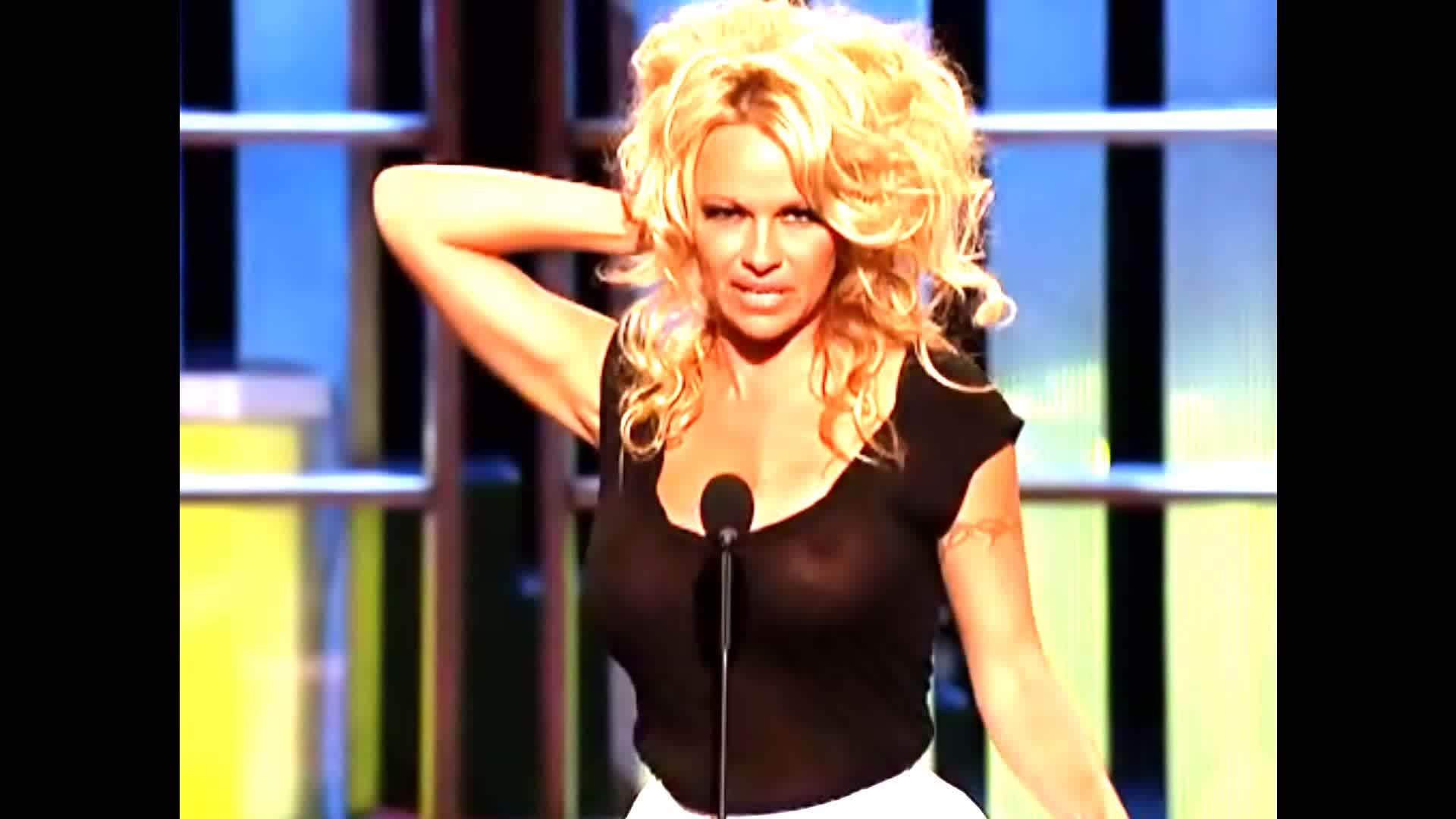 Pamela anderson big tits comedy central