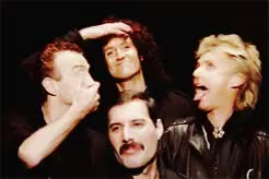 Watch and share Freddie Mercury GIFs and Queen GIFs on Gfycat
