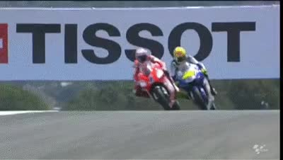 Watch and share MotoGP Historic Battles -- Rossi Vs Stoner Laguna Seca 08' GIFs on Gfycat