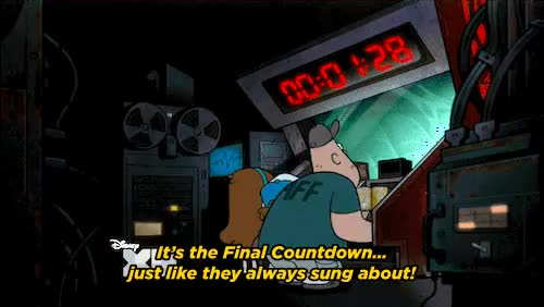 Watch and share Final Countdown animated stickers on Gfycat