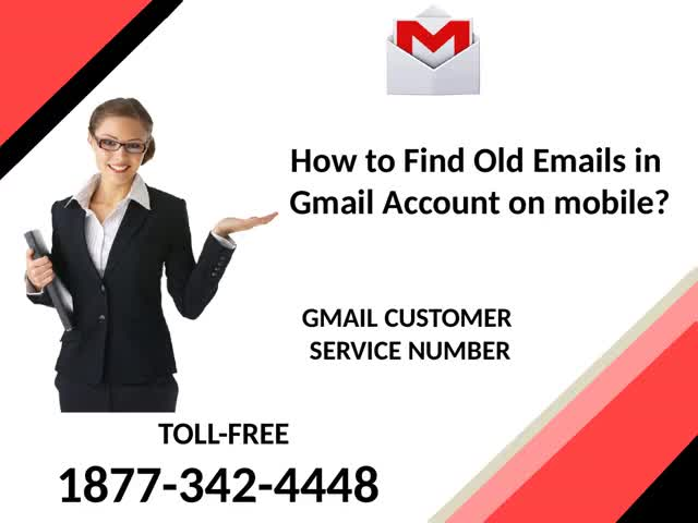 Watch and share How To Find Old Emails In Gmail Account On Mobile? | Gmail Customer Care Number 1877-342-4448 GIFs by Leeza Mark on Gfycat