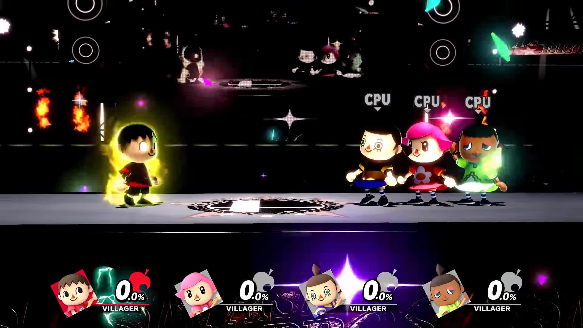 Gaming, KokiriGaming, all, all final smashes, characters, final smashes, mario, smash bros, super smash bros, super smash bros ultimate, Super Smash Bros. Ultimate - Villager Final Smash (aka Villager Uses Capitalism) GIFs