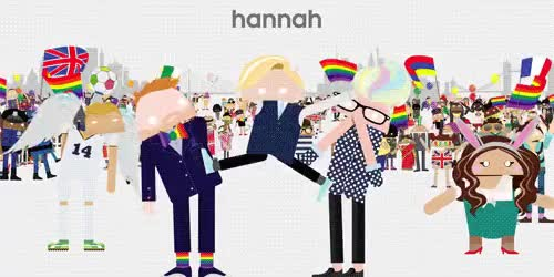 Watch and share This Was Cute GIFs and Hannah Hart GIFs on Gfycat