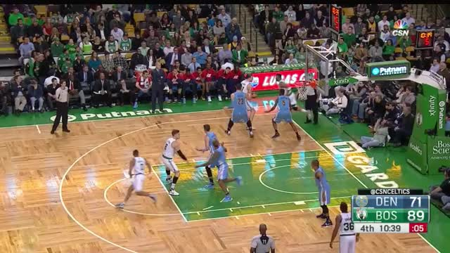 Watch and share Evan Turner 3-Pointer To Beat Buzzer GIFs by mhonkasalo on Gfycat