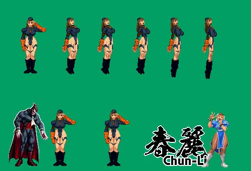 Watch and share Midnight Bliss Chun Li By Xenomic GIFs on Gfycat