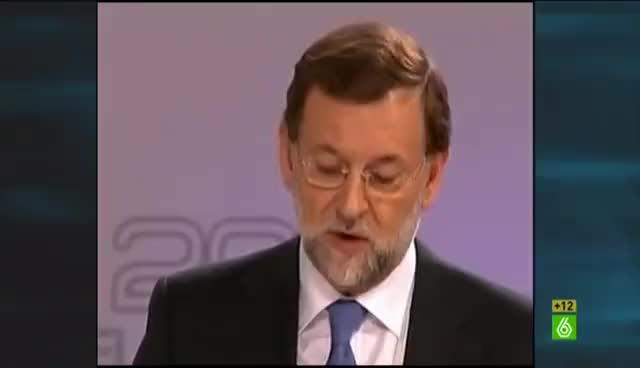 """Watch and share El Intermedio - """"El Ojo Izquierdo De Mariano Rajoy No Es Un Ojo, Es Un Polígrafo"""" GIFs on Gfycat"""