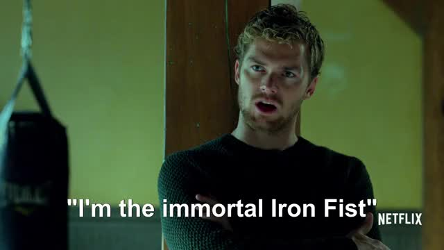 Watch this iron fist GIF on Gfycat. Discover more finn jones, iron fist, luke cage, mike colter, netflix, netflix original series, trailer GIFs on Gfycat