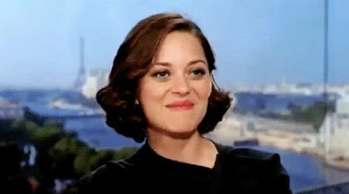 Watch and share Marion Cotillard GIFs and Smiling GIFs on Gfycat