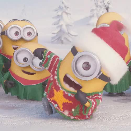 Watch and share Despicable Me 2 GIFs and Happy Holidays GIFs on Gfycat