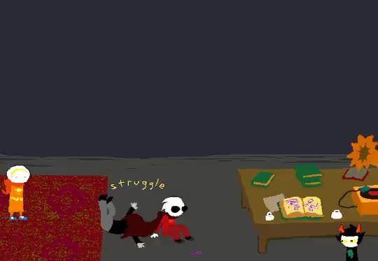 Watch and share Karkat Vantas GIFs and Dave Strider GIFs on Gfycat