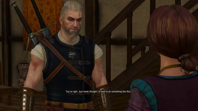 Watch and share Geralt Of Rivia GIFs and The Witcher GIFs by el_doggo on Gfycat
