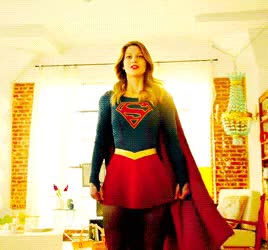 Watch and share Super Girl GIFs and Dc Comics GIFs on Gfycat