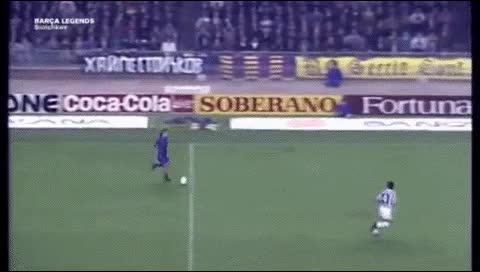 Watch and share Hristo Stoichkov. Barcelona - Juventus. 1990-91 GIFs by fatalali on Gfycat