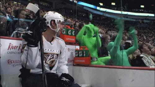 Watch and share Ice Hockey Gifs Stupid Fans GIFs on Gfycat