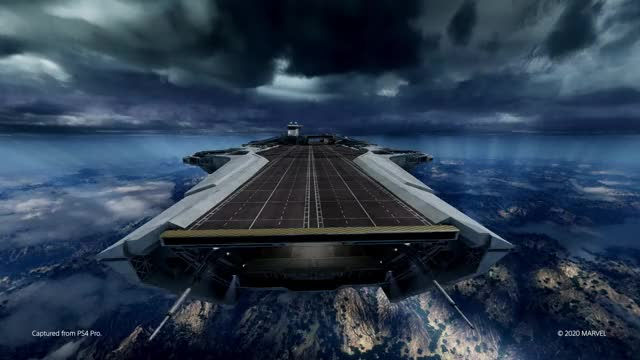 Watch and share SHIELD Helicarrier GIFs on Gfycat