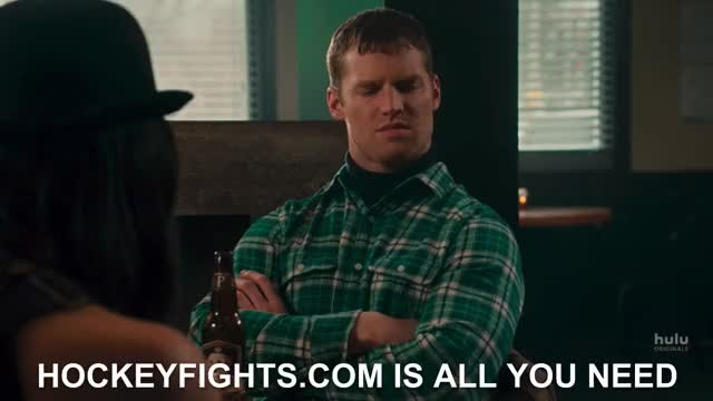 Watch and share Letterkenny GIFs and Hockey GIFs by Huh? on Gfycat