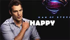 Watch and share Happy Birthday GIFs and Henry Cavill GIFs on Gfycat