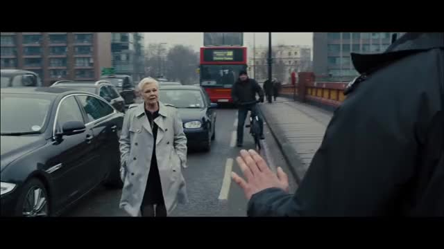 Watch and share Judi Dench GIFs and Skyfall GIFs by Danno on Gfycat