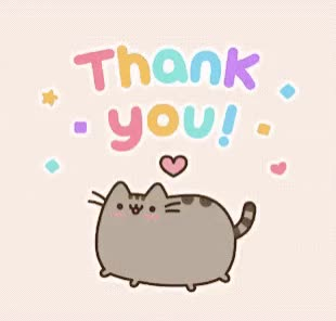 Watch this thanks GIF by GIF Queen (@ioanna) on Gfycat. Discover more cat, cute, gracias, happy, merci, pusheen, sweet, thank, thanks, you GIFs on Gfycat