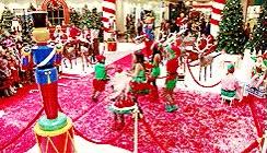 Watch and share 1k Christmas Glee My Stuff Merry Christmas Everyone! *u* GIFs on Gfycat