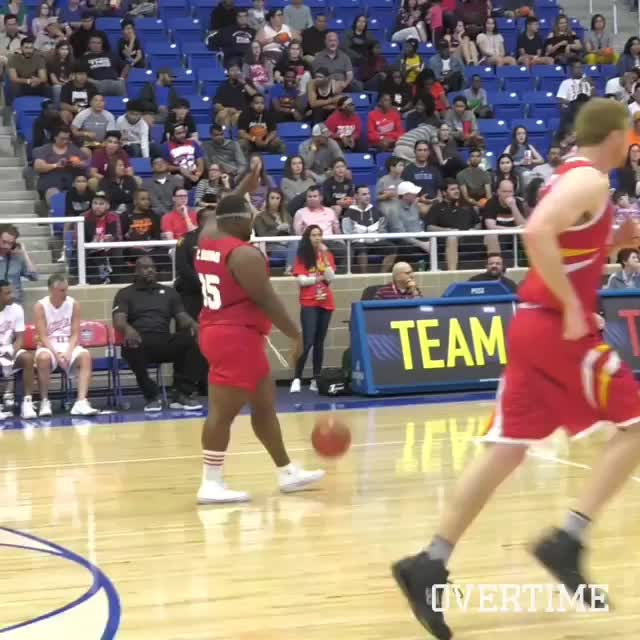 basketball, funny, gifs, holdmyfries, Confidence is key on the court GIFs