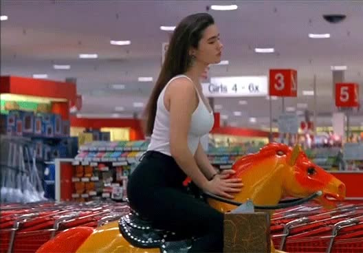 Watch and share Jennifer Connelly - Career Opportunities GIFs by A Pretty Girl is Like a Melody on Gfycat